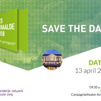 Congres Opgeschaalde Zorg 13 april 2018 - Save the date